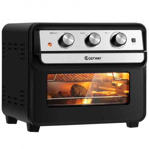 23 QT 6-in-1 Air Fryer Toaster Oven w/9 Accessories