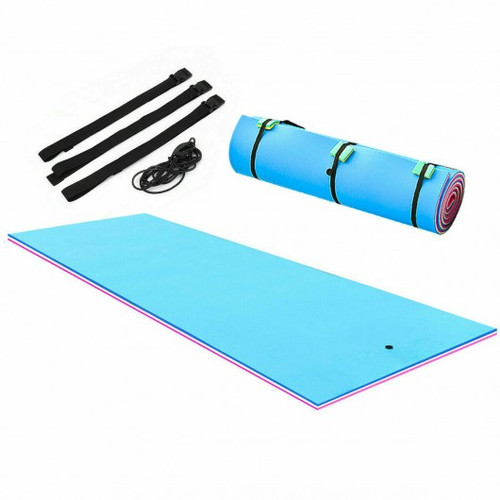 3 Layer Island Water Sports water Mat Floating Pad-18'