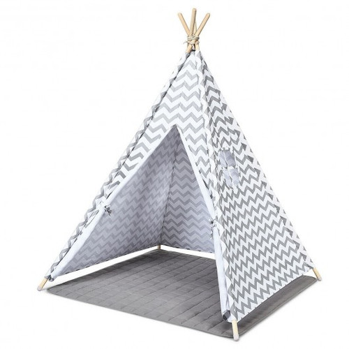 5.2' Portable Children' Indian Play Tent