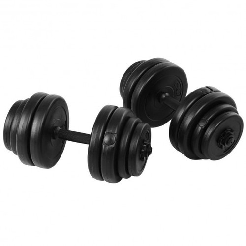 64 lbs Adjustable Weight Dumbbell Set