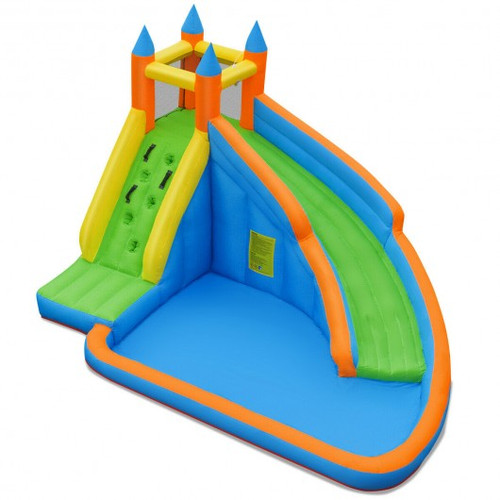 Inflatable Mighty Bounce House Jumper w/Water Slide