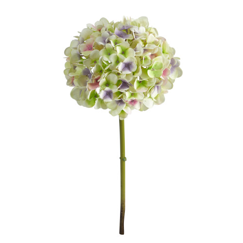"Light Purple 19"" Hydrangea Artificial Flower (Set of 3) - 19"""