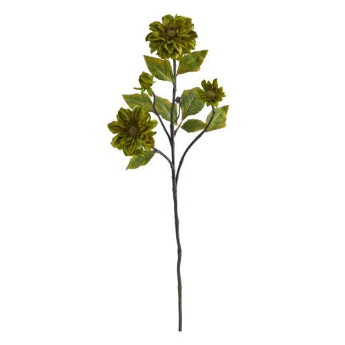 """Green 30"""" Daisy Artificial Flower (Set of 6) - 30"""""""