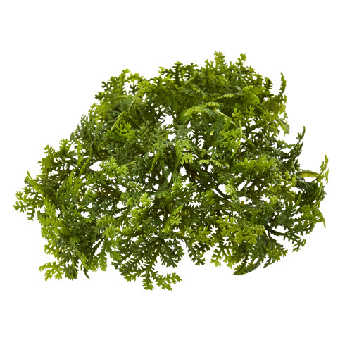 """Multicolor 6"""" Moss Artificial Bush Flower (Set of 12) - 3"""""""