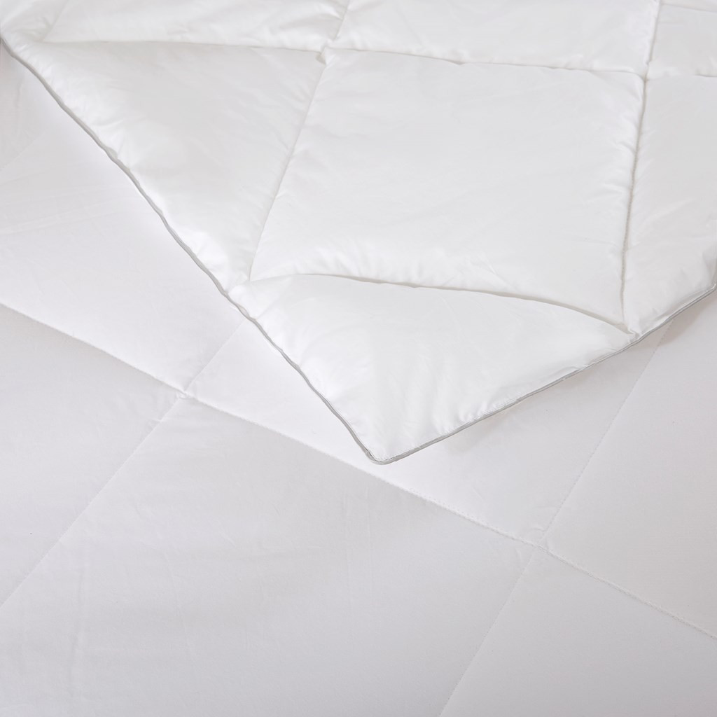 Luxury White Cotton Blend Down Alternative Comforter - 1000 Thread Count (1000TC Cotton Blend-comf)