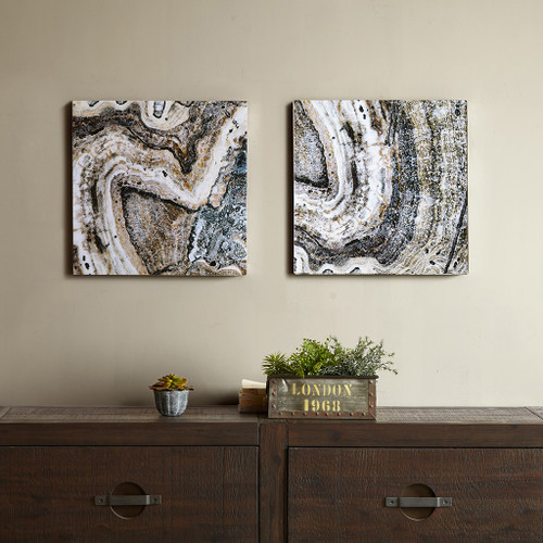 Cool Stone Glass Coat 2 Piece Set (Cool Stone -Art)