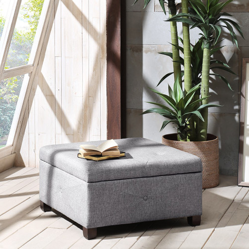Aspen Charcoal Ottoman ( Aspen Charcoal Benches)