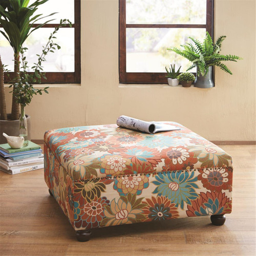 Carlyle Multi Cocktail Square Ottoman (Carlyle Multi-Benches)