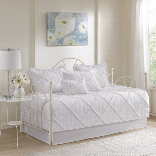 Rosie White 6 Piece Daybed Set ( Rosie -White-DB )