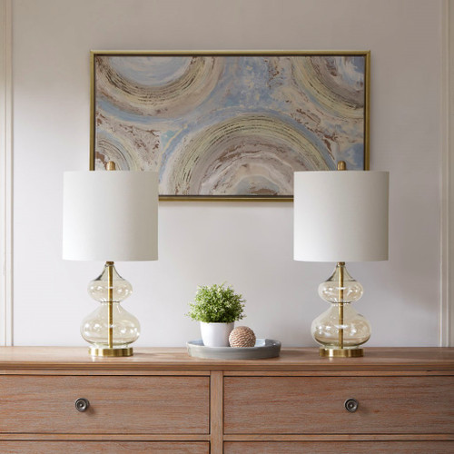 Ellipse Gold Table Lamp set of 2 (Ellipse -Gold-Decor)