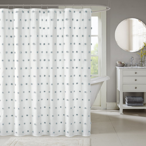 Sophie White Shower Curtain (Sophie -White-Shower)