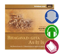 Bhagavad-gita As It Is, Audiobook Download