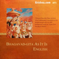 Bhagavad-gita As It Is: English, Audiobook Download