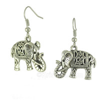 Elephant Raja Earrings