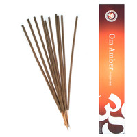 Om Amber Incense, 15 grams