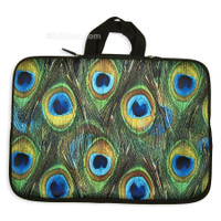 "Peacock Laptop Sleeve Case, 15"" Laptop"