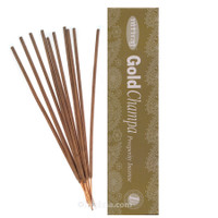 Nitiraja Gold Champa, Prosperity Incense, 25 grams