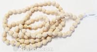 Wood Japa Mala Beads, Round, Large
