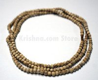 Tulasi Neck Beads, Large Round, 48""