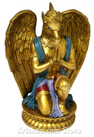 Garuda Figurine, Bronze Color, 8.5""