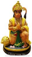 """Hanuman Figurine, 7"""""""