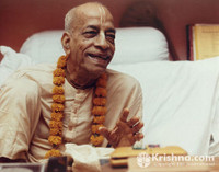 "Srila Prabhupada Photo, Mayapur Smiling: 20""x24"""