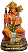 """Hanuman Figurine, 8.5"""""""