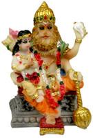 """Narasimha-Prahlad Figurine, 2.5"""""""