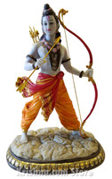 Rama with Bow Figurine