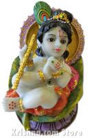 "Baby Krishna Figurine, 3.5"""