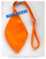 Medium Cotton Bead Bag, Orange
