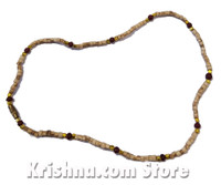 Tulasi, Colored & Gold Neck Beads, 16""