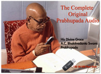Complete Original Prabhupada Audio, USB