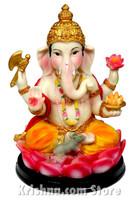 "Ganesh Figurine, 6"""
