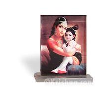 Krishna & Mother Yashoda, Small Acrylic