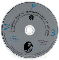 Music of Srila Prabhupada, Vol. 4, MP3 CD