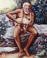 """Jagannatha Dasa Babaji Photo Print, 8""""X10"""""""