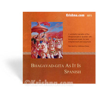 Bhagavad-gita As It Is, Spanish, MP3 CD