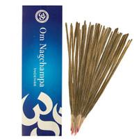 OM Nagchampa Incense, 100 grams