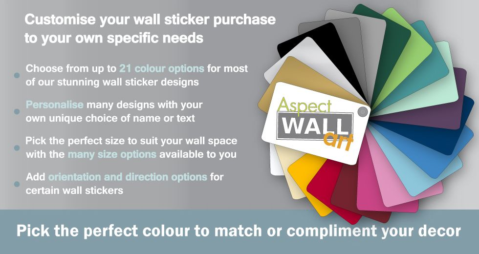 aspect wall art colour choices