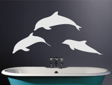 dolphin wall stickers multiple sizes