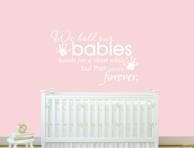 baby room wall sticker quote ( buy 2 get 3rd free )