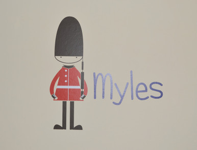 soldier wall sticker myles