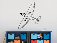 spitfire wall sticker