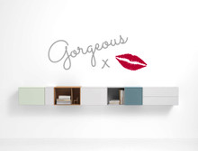 gorgeous wall sticker