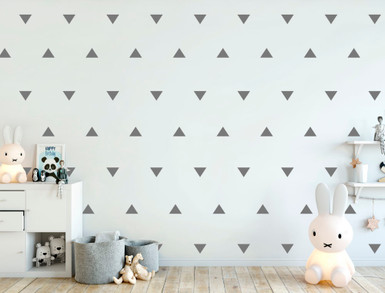 triangle wall stickers multiple sizes