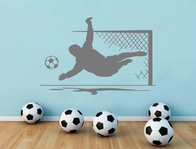 goalkeeper wall sticker