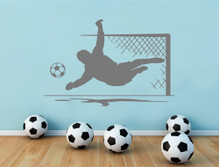 goalkeeper wall sticker