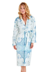 Marrakesh Long Blue Robe