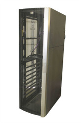 HP 10642 G2 Server Cabinet Case 383573-001 143845-001 W/ Rails, Missing Panels